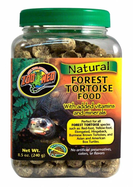 Zoo Med Natural Forest Tortoise Food 8.5oz.