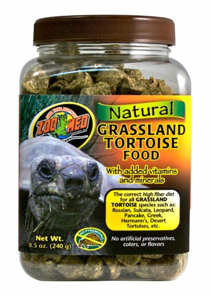 Zoo Med Natural Grassland Tortoise Food 8.5oz