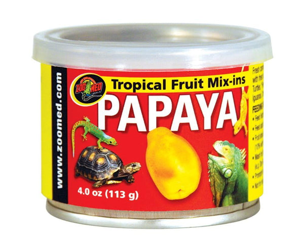 Zoo Med Fruit Mix-Ins Papaya 1.75oz.