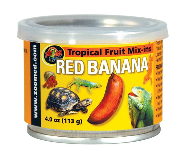 Zoo Med Fruit Mix-Ins Red Banana 1.75oz.