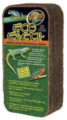 Zoo Med Eco Earth Compressed Coconut Fiber Substrate 1 Brick.