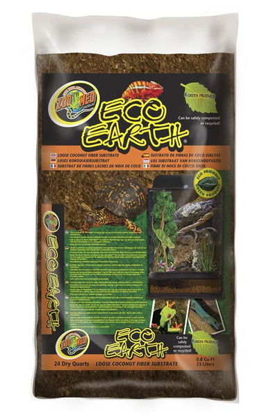 Zoo Med Eco Earth Loose Coconut Fiber Substrate 24qt.