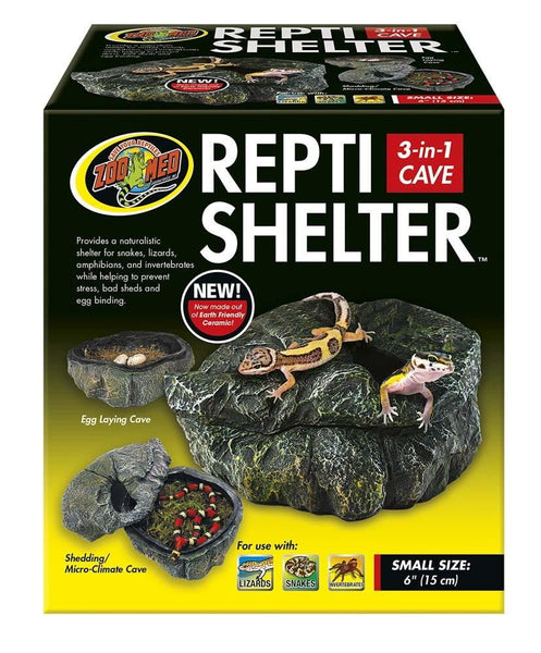 Zoo Med Repti Shelter 3 in 1 Cave Small.