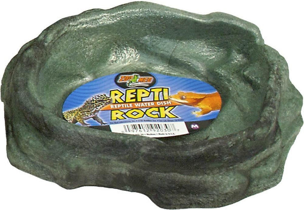 Zoo Med Repti Rock Water Dish Medium.