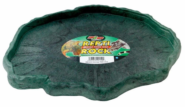 Zoo Med Repti Rock Food Dish Extra Large.