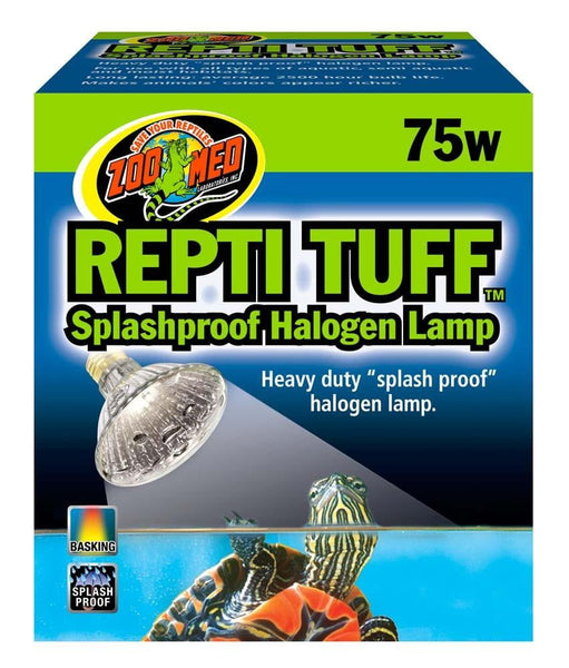 Zoo Med Repti Tuff Splashproof Halogen Lamp 75W.