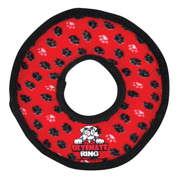 VIP Tuffy Ultimate Ring-Red Paw Print.