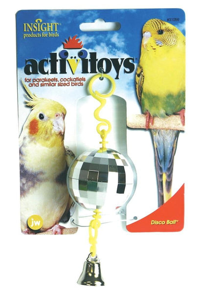 JW Pet Activitoy Disco Ball.