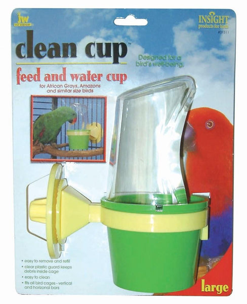 JW Pet Insight Clean Cup Feeder and Water Cup Large.