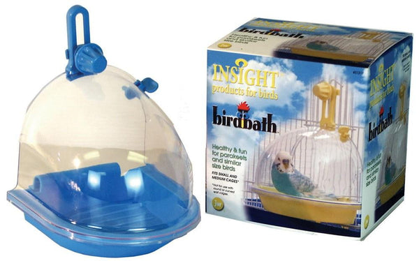 JW Pet Insight Bird Bath.