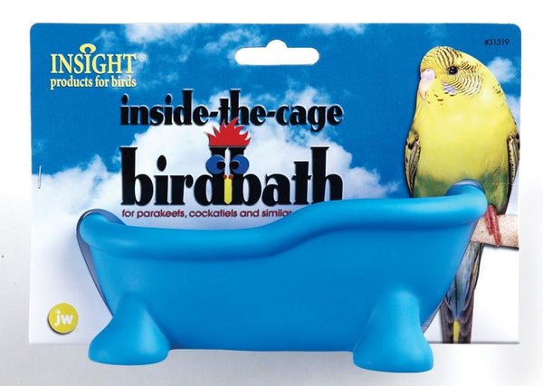 JW Pet Insight Inside the Cage Bird Bath.