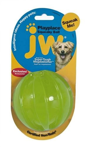 JW Pet Squeaky Ball Small.