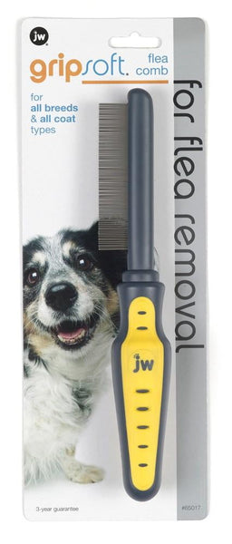 JW Pet GripSoft Flea Comb.