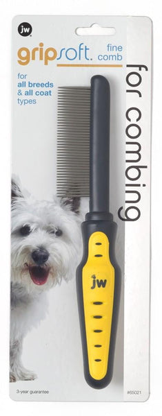 JW Pet GripSoft Comb Fine.
