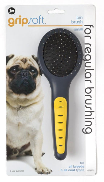 JW Pet GripSoft Pin Brush Small.