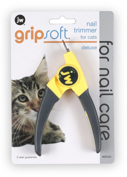 JW Pet GripSoft Deluxe Nail Trimmer for Cats.