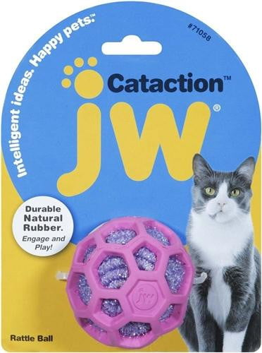JW Pet Rattle Ball.