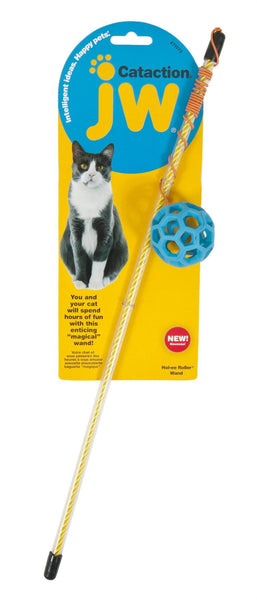 JW Pet Cataction Holee Roller Ball Wand.