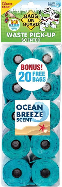 Bags on Board Scented Bag Refill Pack 140ct.