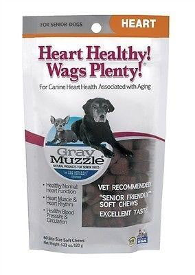 Ark Naturals Gray Muzzle Heart Healthy Wags Plenty NEW w-Seal