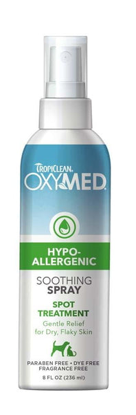 OxyMed by TropiClean HypoAllergenic Spray 8oz.