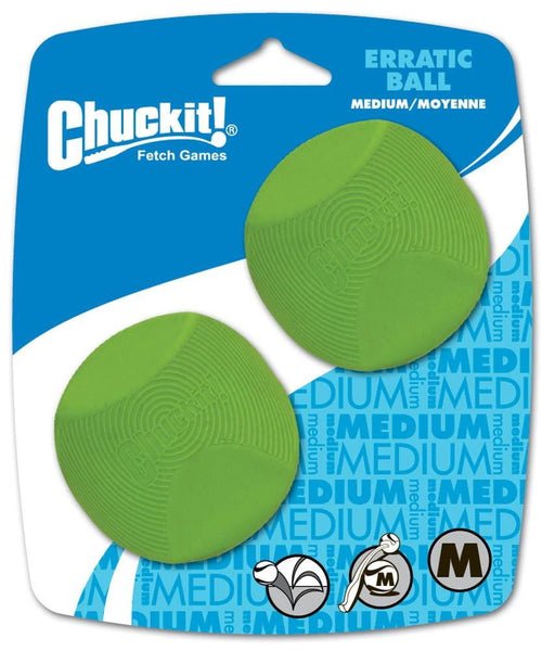 Chuckit! Erratic Ball Medium 2pk.