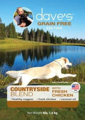 Daves Grain Free Countryside Blend Chicken 4 lbs.