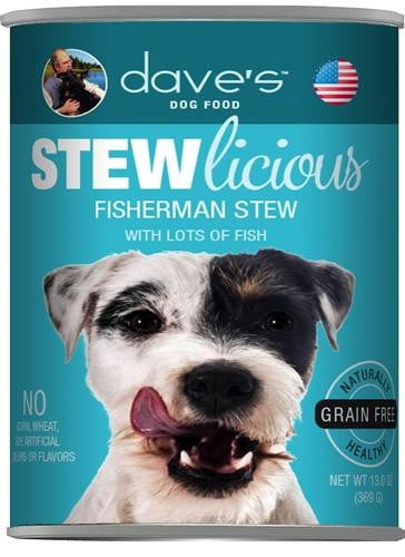 Daves Naturally Healthy Shredded Fishermans Stew Case of 24.