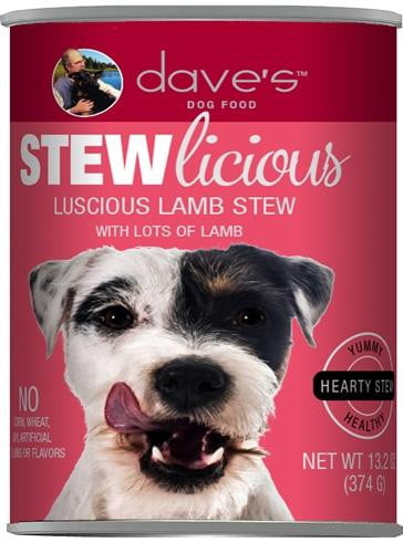 Daves Pet Food Stewlicious Luscious Lamb 13.2oz  (CASE OF 12).