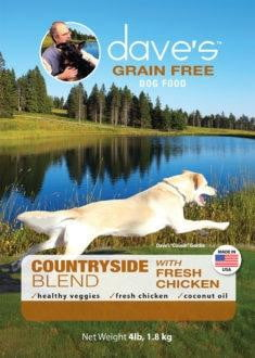 Daves Grain Free Countryside Blend Chicken 28 lbs.