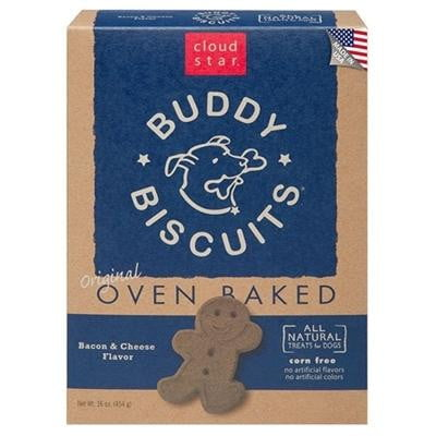 Cloud Star Buddy Biscuits Bacon-Cheese  16oz..