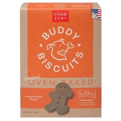 Cloud Star Buddy Biscuits Peanut Butter  16oz..