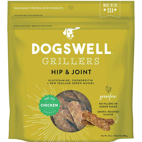 DOGSWELL DOG HIP & JOINT GRILLERS GRAIN FREE CHICKEN 24OZ.