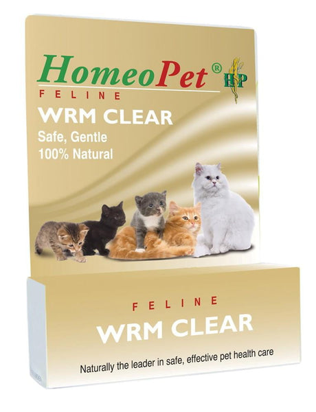 HomeoPet Feline Worm Clear 15ml.