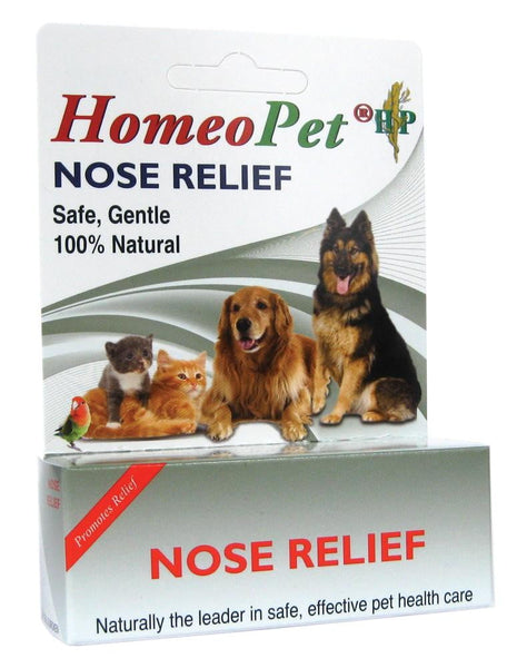 HomeoPet Nose Relief bottle 15ml.
