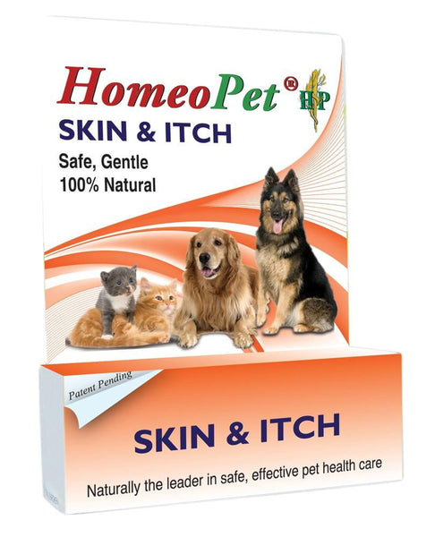 HomeoPet Skin & Itch bottle 15ml.