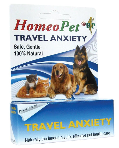 HomeoPet Travel Anxiety bottle 15ml.
