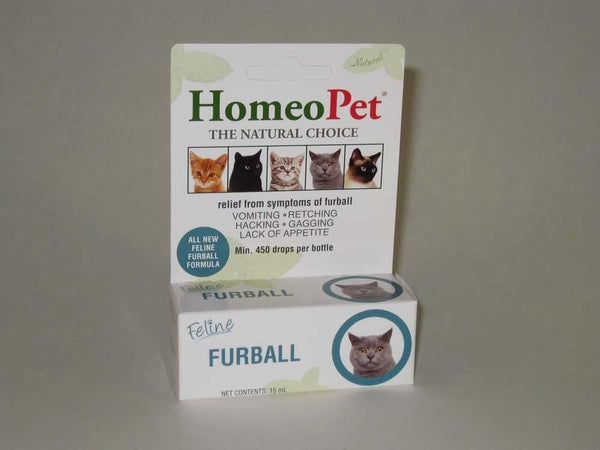 HomeoPet Feline Furball Relief 15ml.