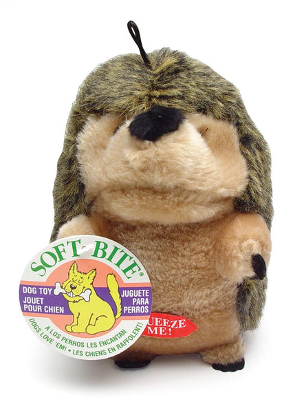 Booda Soft Bite Plush Hedgehog Medium.