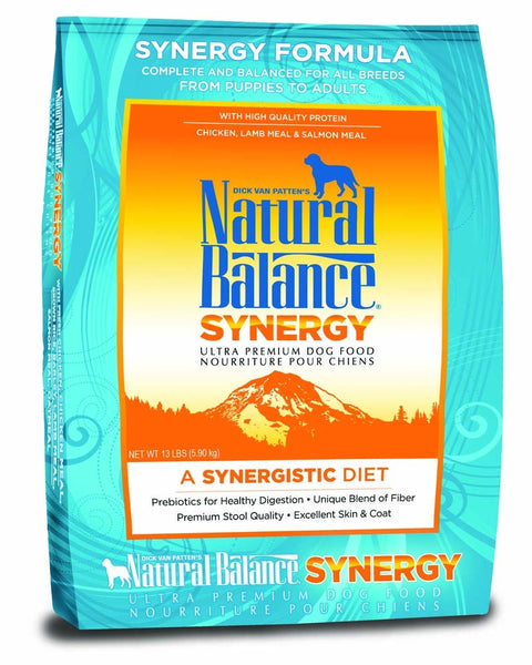 Natural Balance Synergy Ultra Premium Dry Dog Food 13lb.