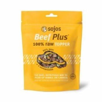 SOJOS DOG FREEZE-DRIED BEEF TOPPER 4OZ.
