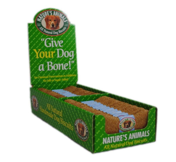 Natures Animals Gourmet Select Organic Bone Chicken 4in 2-24pc Boxes.