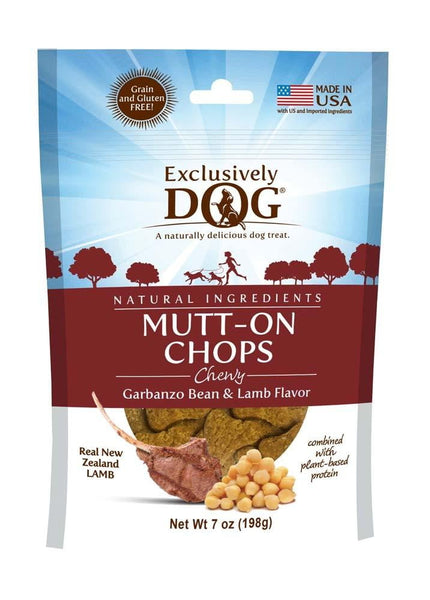 EXCLUSIVE TREAT GRAIN -FREE MUTT-ON CHOPS 8OZ.