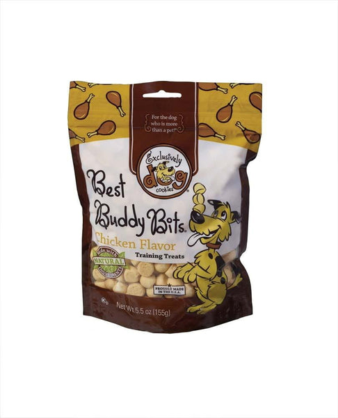Exclusively Pet Best Buddy Bits Chicken Flavor Dog Treats 5.5oz.