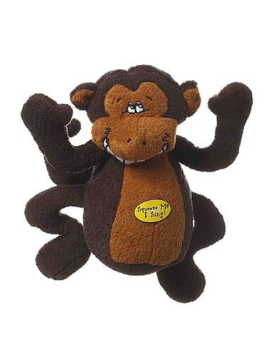 Multipet Deedle Dudes Monkey 8in.