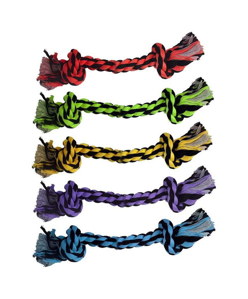 Multipet Nuts for Knots 2-Knot Rope Dog Toy.