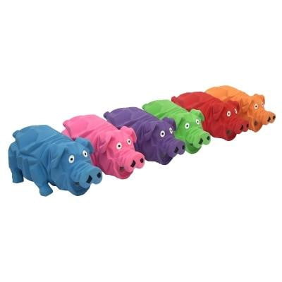 "Multipet Origami Pigs (Assorted Colors) Size: 8""."