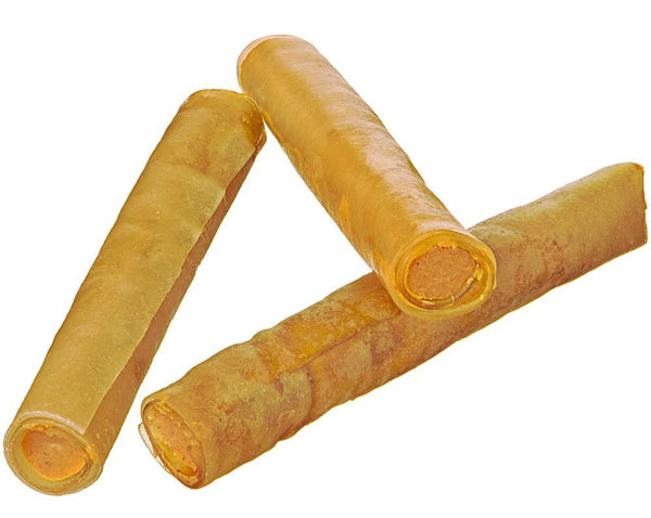 Redbarn Filled Rolled Rawhide Peanut Butter