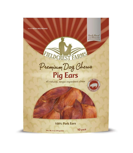Ethical Fieldcrest Farms Pig Ears Smoked 10pk.