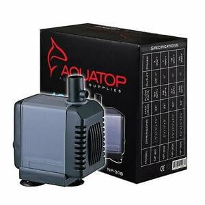 AQUATOP Aquarium Submersible Pump 317gph - Leaderpetsupply.com